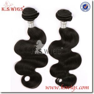 K. S Wigs Best Quality Human Hair Extensoin Brazilian Remy Human Hair pictures & photos