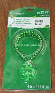 Plastic Light up St. Patrick′s Day Bracelet (LP010) pictures & photos