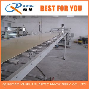 Conical Twin Screw PVC Board Extruder Line pictures & photos