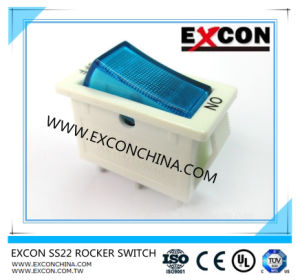 Excon Electronic Rocker Switch Ss22 with Good Price pictures & photos