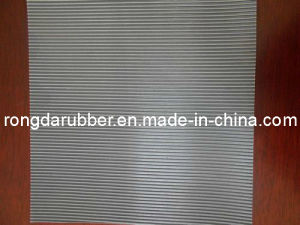 Ribbed Insulation Rubber Sheet / Fine Rib Dielectric Rubber Sheet