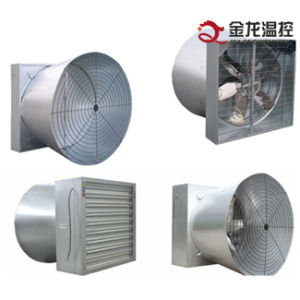 Cone Exhaust Fan with Big Airflow / Shutter Door Fan/ Greenhouse Butterfly Cone Cooling Fan pictures & photos