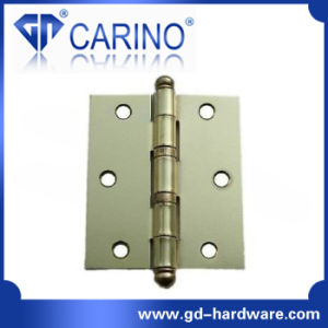 Ball Head Square Iron Door Hinge (HY812) pictures & photos