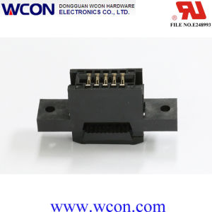2.54 Mm Card Edge Connector Socket pictures & photos