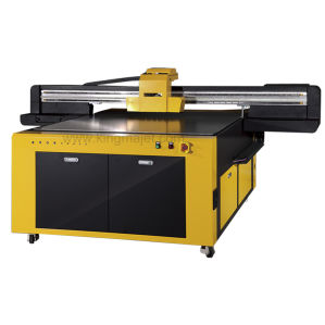 Mj-UV1513e Digital Printer for PU Leather Glass Textile Canvas EVA Metal Wood