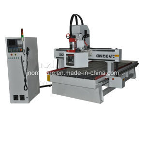 CNC Door Making Auto Tool Change Furniture Carving Router pictures & photos