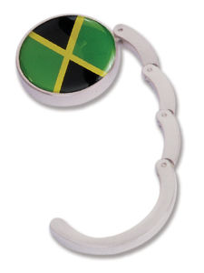 Jamaica Flag Epoxy Bag Hook for Promotion (BH101E3) pictures & photos