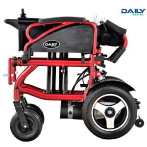 Economic Aluminium Folding Electric Power Wheelchair Dp602 with Rear Suspension pictures & photos