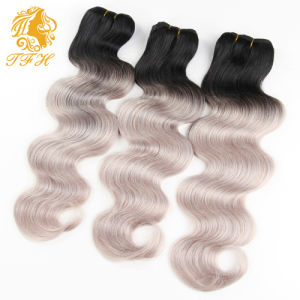 8A Omber Hair Extensions Brazilian Body Wave Brazilian Virgin Hair Ombre Brazilian Hair Remy Human Hair Weave pictures & photos