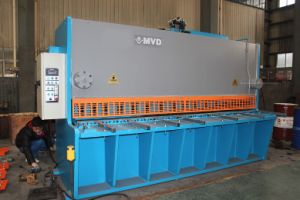 Mvd All Steel Parts Zinc Coated Sheet Cutting Hydraulic Shearing Machine pictures & photos