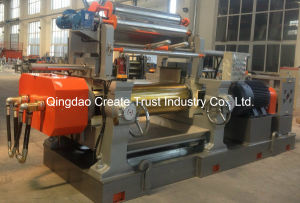 New Hot Sale Rubber Two Roll Mill with Stock Blender (CE/ISO9001) pictures & photos