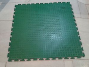 Maunsell High Quality Interclocking PVC Flooring in Piece Easy to Installtion pictures & photos