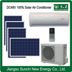 Split Wall Mounted DC48V 100% Solar Powered Air Conditioner pictures & photos