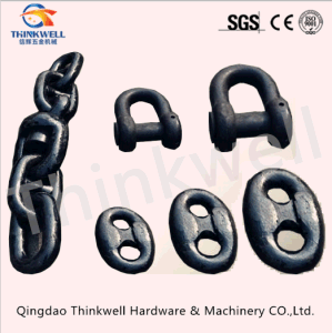 U2 U3 Stud Link Marine Hardware Alloy Steel Anchor Chain pictures & photos