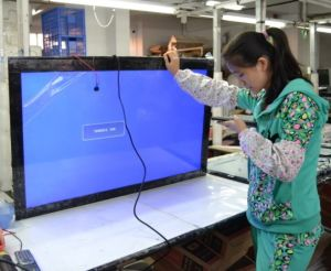 Garment Store/ Furniture Store LED Display Monitor with USB Function Built-in Stereo Multimedia Speakers HDMI 1920*1080