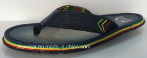 EVA Comfort Slippers for Men Comfort Flip Flop Shoes (815-9908) pictures & photos