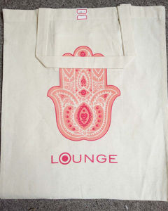 Cotton Tote Bag with Candy Printing Colors
