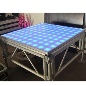 Party Decoration 1.22X1.22m LED Digital Dance Floor Tile pictures & photos