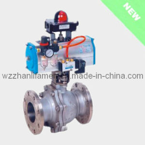 Pneumatic Hard Sealing Ball Valve (Fixed type) pictures & photos