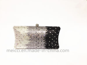 Three Color Crystal Clutch Bag, Be in Fashion Eveningbag pictures & photos