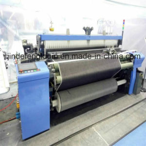 2 Color Electronic Weft Feeder Air Jet Loom with Cam Shedding pictures & photos