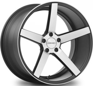Classic 5 Spokes Staggered Alloy Wheel (5173) pictures & photos