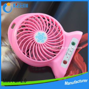 Personal Outdoor Fan Small Travel Fan Rechargeable Desktop Fan Portable USB Mini Fan pictures & photos