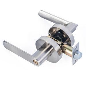 Chrom Zinc Alloy Tubular Lever Handle Door Locks pictures & photos