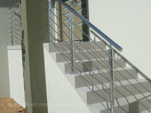 Stainless Steel Rod Balustrade/Horizontal Bar Railing System for Balcony pictures & photos