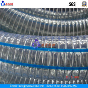 Soft PVC Steel Wire Spiral Reinforced Hose Extrusion Machinery/Production Line pictures & photos