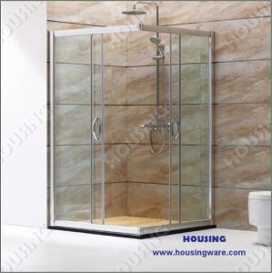 Simple Design Glass Shower Room