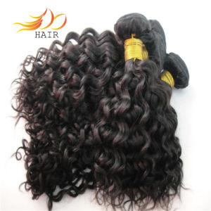Wholesale 6A Jerry Curl Brazilian Virgin Hair Weave pictures & photos