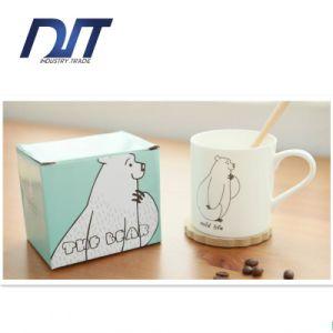 High Quality Highlight Disposable Creative Cartoon Pattern Ceramic Coffee Mug pictures & photos