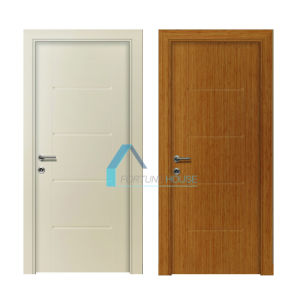 Competitive Price Colorful Molded HDF Wood Melamine Faced Door pictures & photos