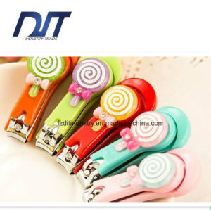Lovely Lollipop Color Nail Clippers Nail Cutter Promotion Gift pictures & photos