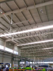 6.2m (20.4FT) Customized Maintenance Industrial Free Hvls Big Ceiling Fan pictures & photos