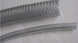 PVC Steel Wire Reinforced Hose Line pictures & photos