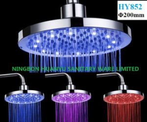 LED Overhead Shower, LED Top Shower Head (HY822) pictures & photos