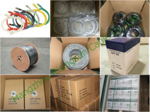 Cat5e UTP with DC Power Cable IP Cable for CCTV 0.75mm 0.50mm pictures & photos