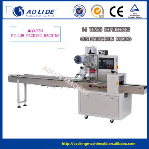 High Quality Rotary Washing Hand Soap Flow Wrap Machine pictures & photos