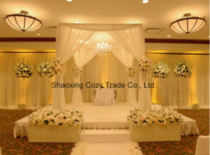Good Quality Voile Sheer for Wedding Banquet Drape, Curtain, Backdrop pictures & photos