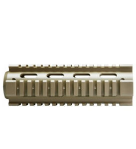 M4 Carbine Length Drop in Quad Rail Rifle Handguard pictures & photos