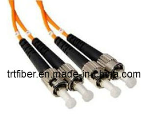 St/Upc-St/Upc Om1 Dx Fiber Optic Cable (fiber cable) pictures & photos