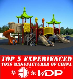 Outdoor Children Playground Plastic Slide Toys Equipment Used (HD15A-038A) pictures & photos