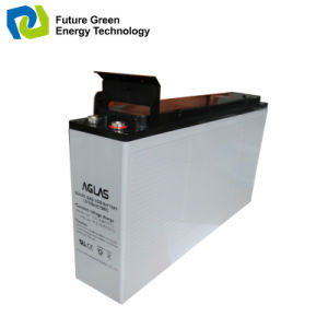 12V120ah Deep Cycle Solar Wind Energy Storage Battery pictures & photos