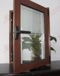 High Quality Aluminum with Built-in Shutter Window (BHA-CW05) pictures & photos