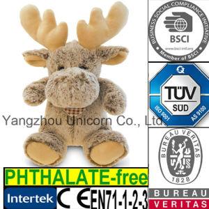 EN71 Kids Gift Soft Stuffed Animal Moose Plush Toy