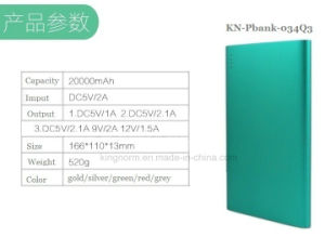 Customized Logo Color 20000mAh Portable Charger for Portable Computer pictures & photos