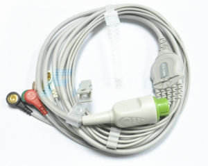 Bionet A8 Monitor ECG Cable Medical Supply pictures & photos