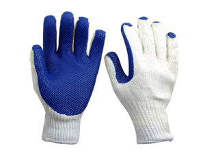 Latex Coated Glove pictures & photos